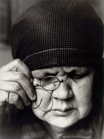 Alexander Rodchenko, Portrait of mother, 1924